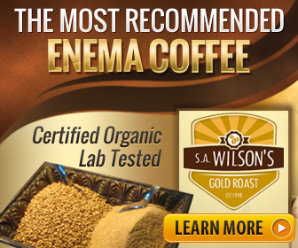 s.a.Wilsons Gold Roast enema coffee